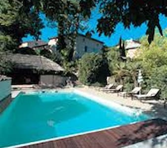 La Baronnie, chambre familiale - Mirabel-aux-Baronnies - Bed & Breakfast