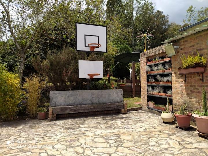 Relajación y descanso en Combita, Boyacá