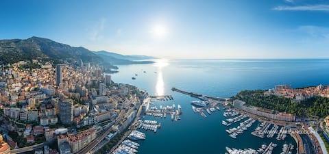 xMONACO CENTRAL Monte-Carlo - Ein wunderschönes Studio