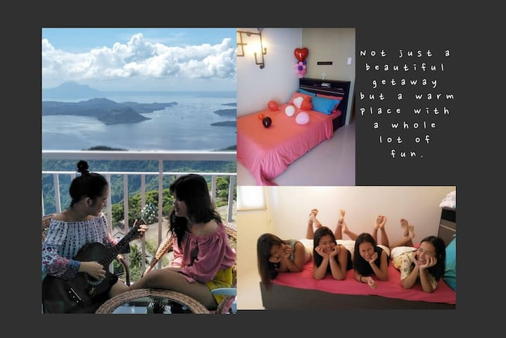 Taal Haven @ Wind Residences-Taal View/Wifi/Movies