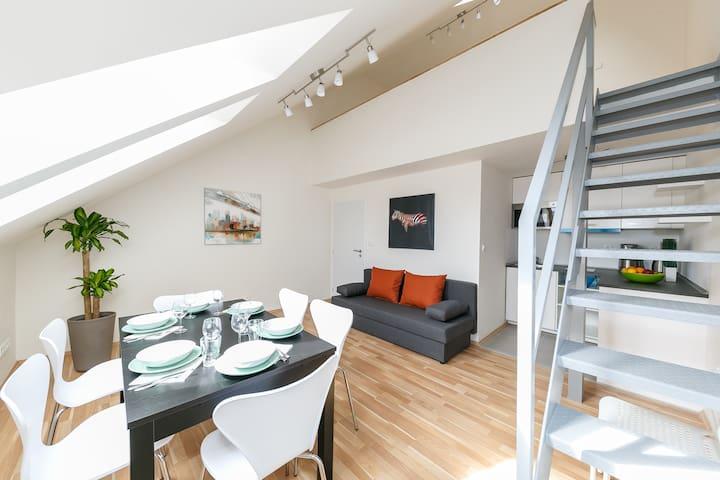 Standard Duplex Apartment (max. 7 adults)IV