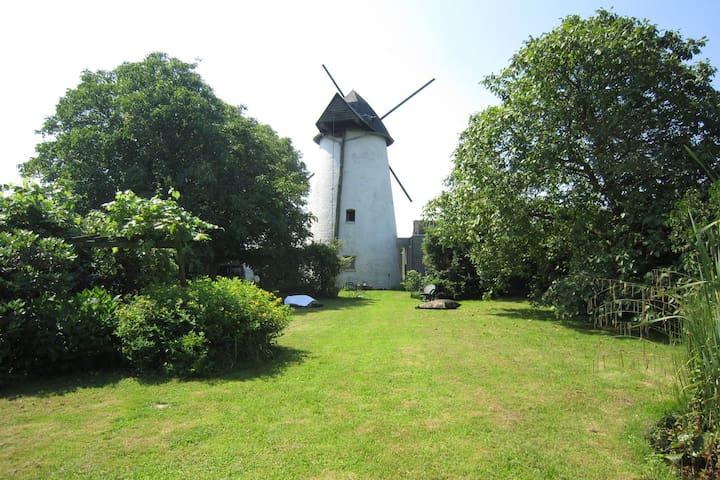 Wunderschöne restaurierte Windmühle aus dem Jahr 1816 mit schönen großen Garten.
