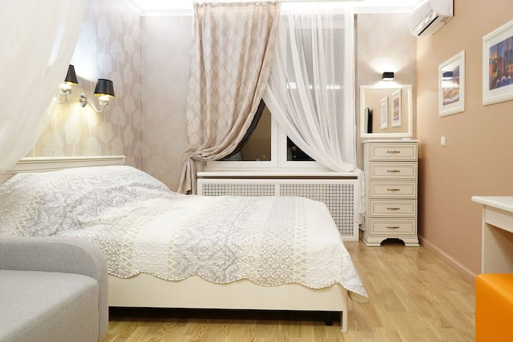Modern apartment close to Moscow railway station