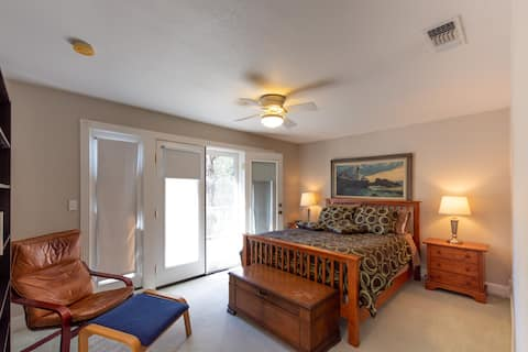 A private guest suite all to yourself!