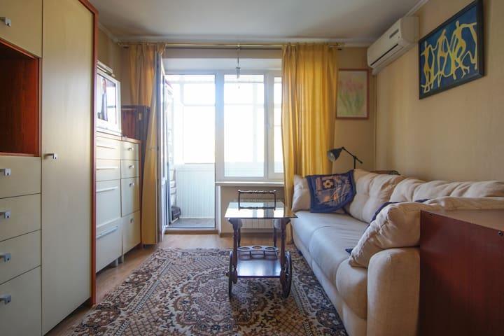 Уютная квартира рядом с метро ВДНХ