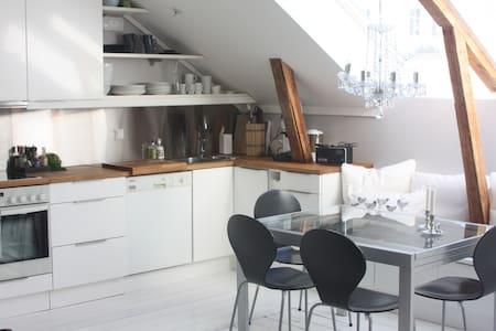 Trivelig leilighet midt i Lillesand - Lillesand - Condomínio