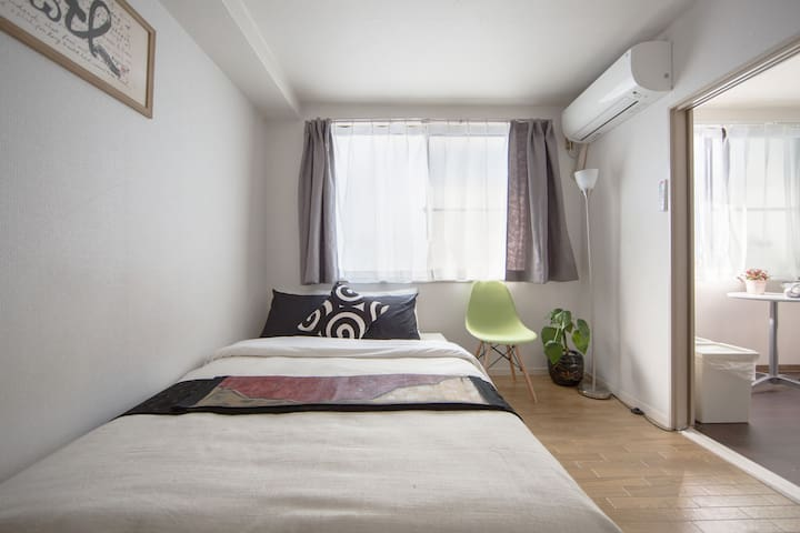 3D/Subway 5min/Free Bicycle Rental - Kyōto-shi - Appartement
