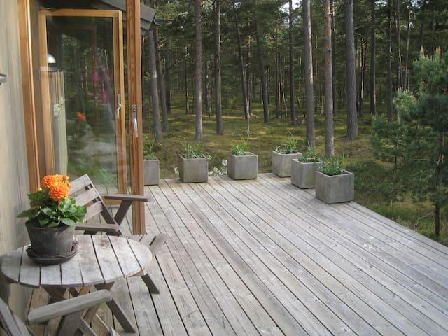 Stuga i Äspet Åhus nära havet - Åhus - Cottage