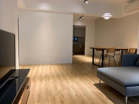 南勢角站極簡公寓分租Near Metro minimalistic flat to share
