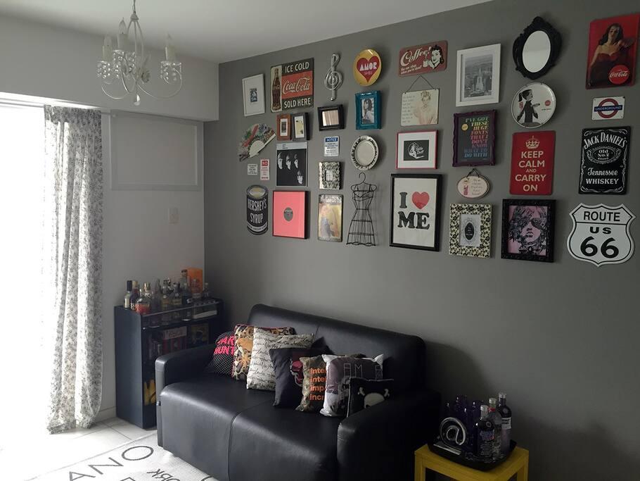 Living Room (Sleeper sofa for 2.)
