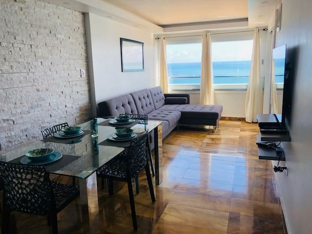 Ocean view at Condominium Playa Azul 1 @ 1405