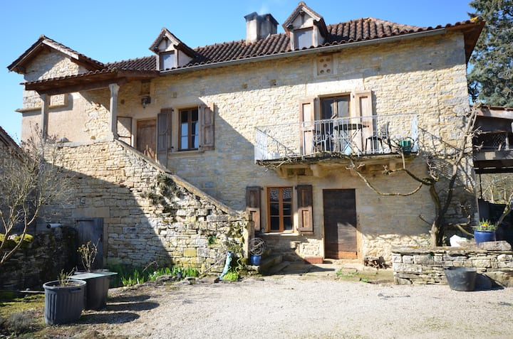 Mas de Cazes in beautiful rural South West France