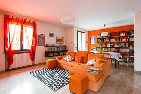 Lichte en ruime villa met 3 verdiepingen