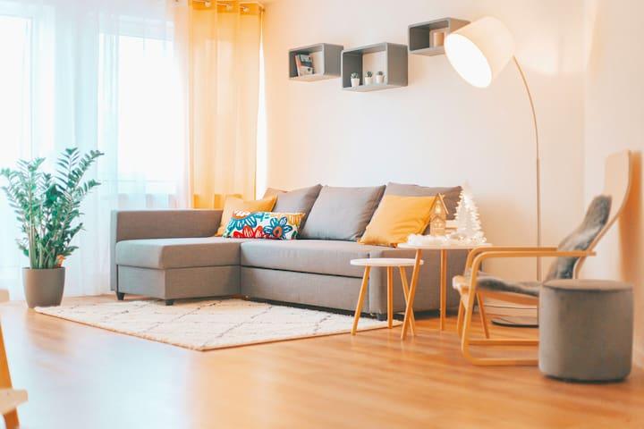 ♥♥♥NEU♥♥♥ Moderne Design Wohnung/NETFLIX/SmartHome