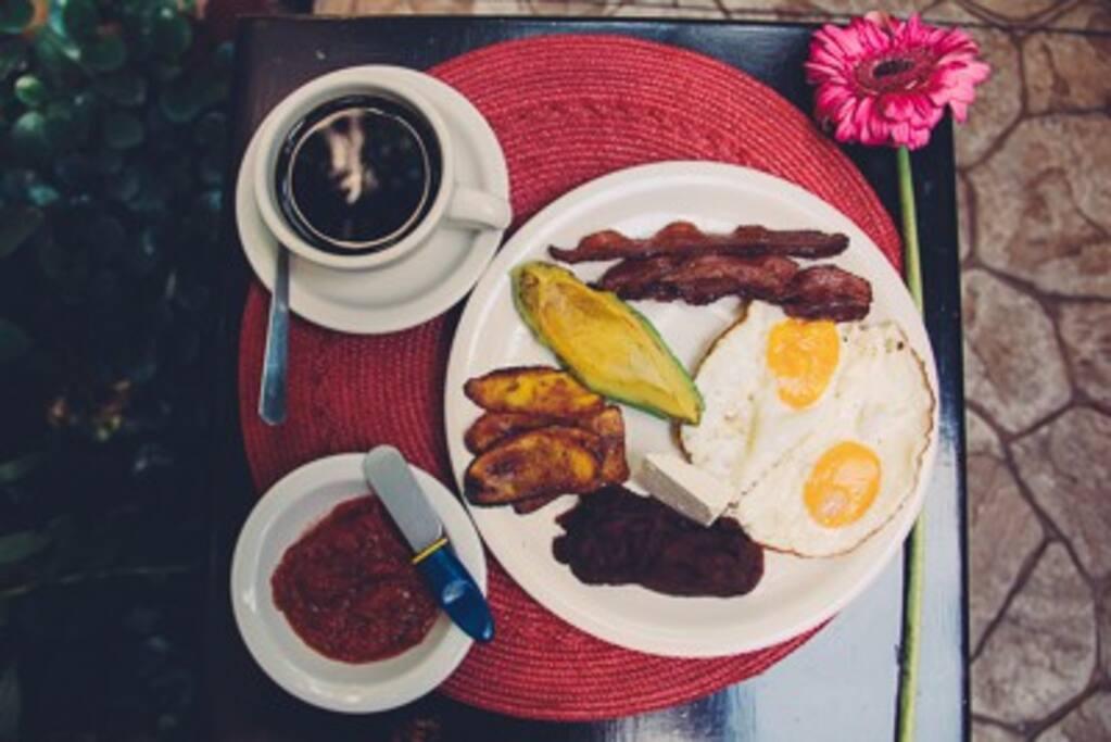 Desayuno Típico Hondureño
