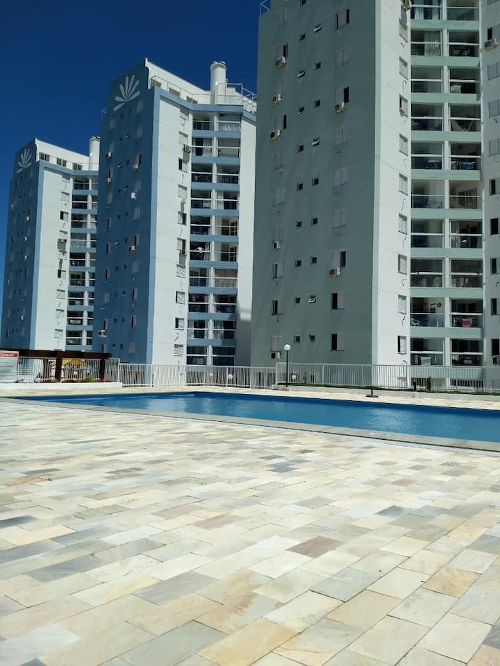 Apartamento em Laguna com vista para o mar