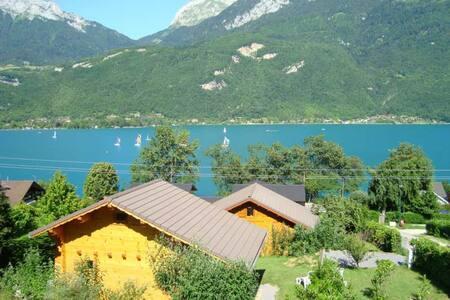 Chalet 4 pl, 3 étoiles Lac d'Annecy - Doussard
