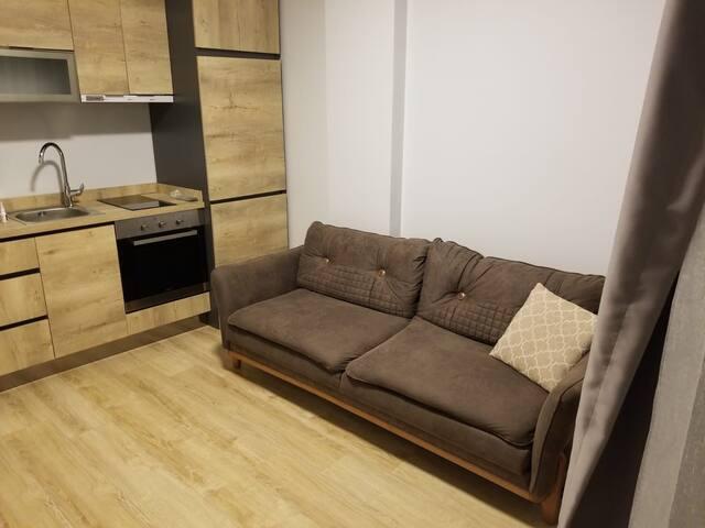 Hasanpasa 1+1 tiny house+private kitchen&shower