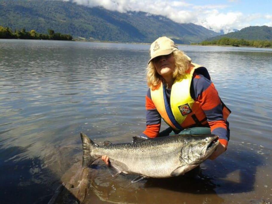 Servicios de pesca