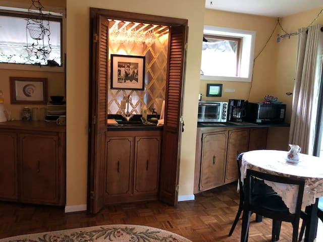 Audrey's Room - the Kitchenette