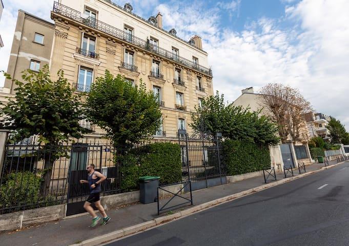 Elegant Parisian style apartment