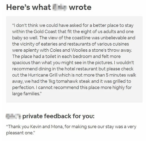 Our service team has received numerous good reviews from our satisfied and happy guests. 客人好评如潮