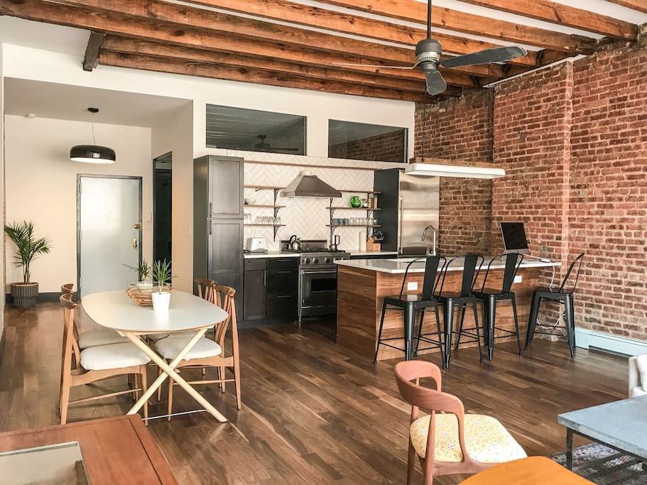 Beautiful lower east side 1 bedroom loft apartments for - 1 bedroom apartment in east new york ...