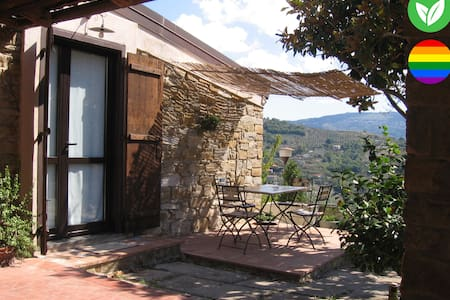La luna nella mano - cottage with amazing view