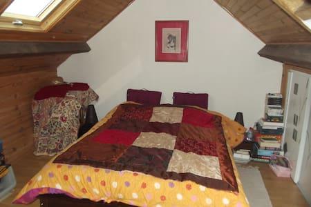 chambre sous les toits - Châteaubourg