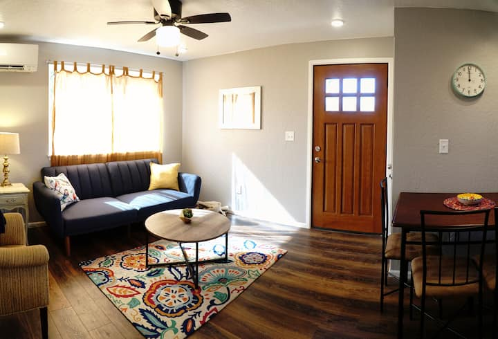 ★New & Trendy 1BR House★ W/D + Thoroughly Cleaned!
