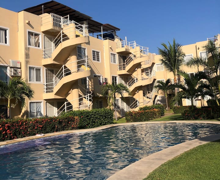 Apartamento Entero, Acapulco Diamante. LAS GARZAS.