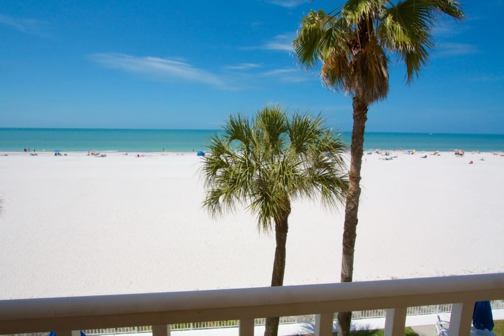 Second Master Bedroom Balcony View of the Beach and Gulf