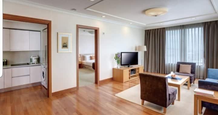 호텔 조식을 이용하는 2룸