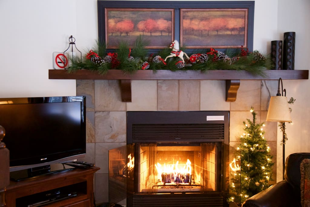 Cosy fireplace for those cooler evenings.