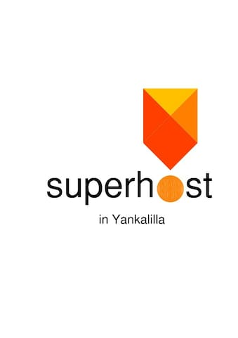 Awarded Superhost status by Air BnB