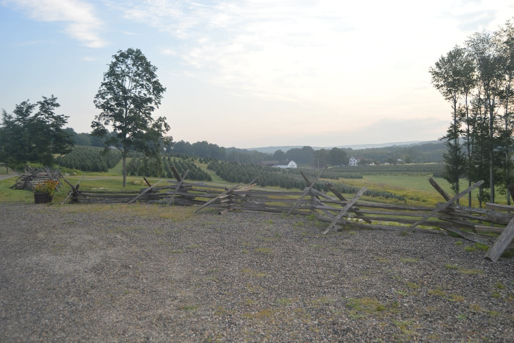 View of the 150 Acre Geer Farm