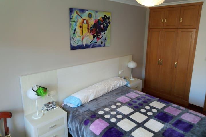 Habitación privada con baño compartido - Lugo - Lägenhet