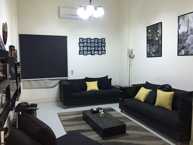 Charming modern 1 bedroom ground apt. - Cairo - Leilighet