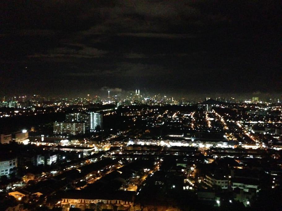 KLCC View at night
