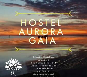 Hostel Aurora Gaia - Arambaré