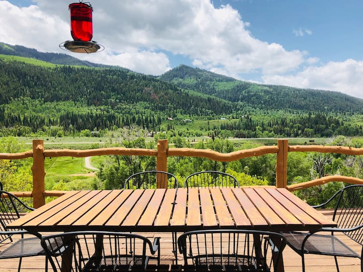Best Views in Weber Canyon! 4 bdrm Rustic Paradise