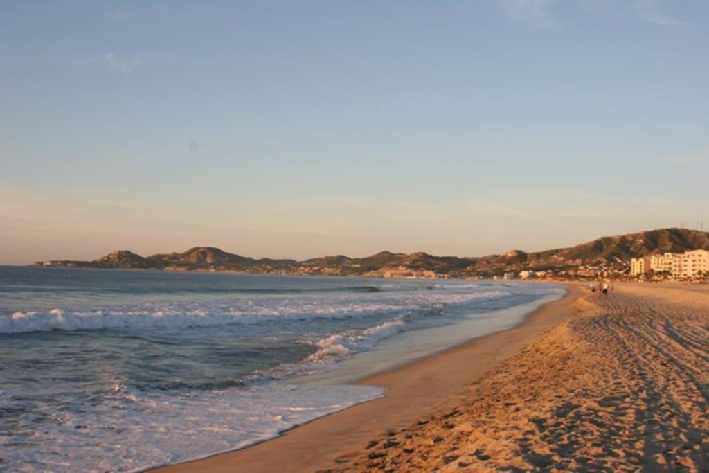 Palmilla Bay, Just across the street
