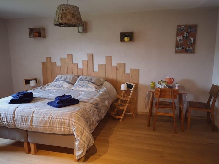 Chambre cosy 1 au coeur des  hautes Vosges natures