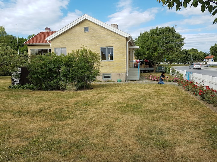 Visby Villa  for 6 guests. 800 m to Old Town