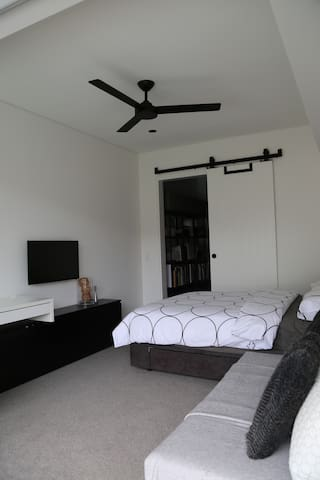 Private Guest Room (view towards guest room entry)