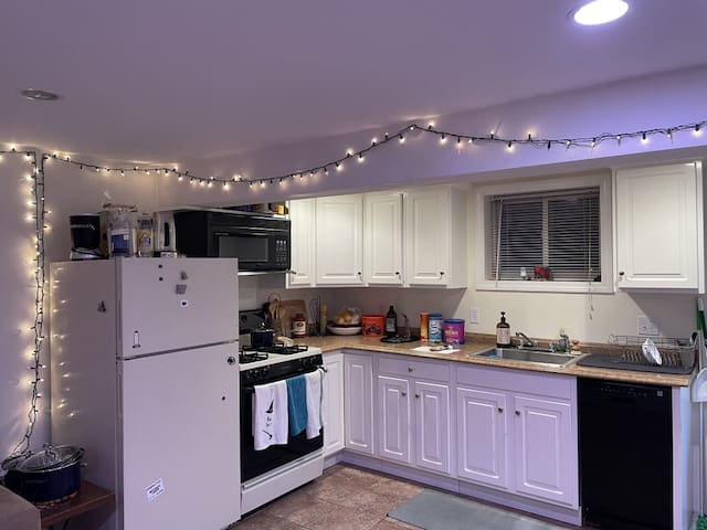 Entire One bedroom apt /Private entrance in Newton