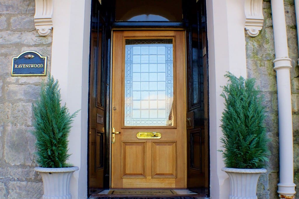 Front door main entrance