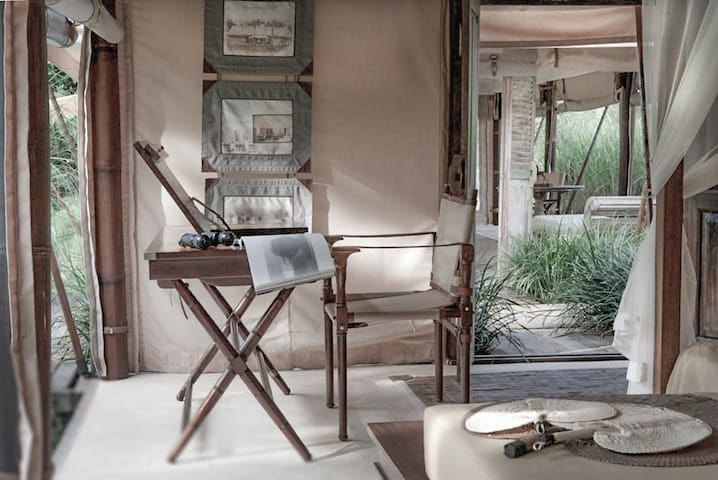 Bali Beach Glamping (Deluxe Tent)