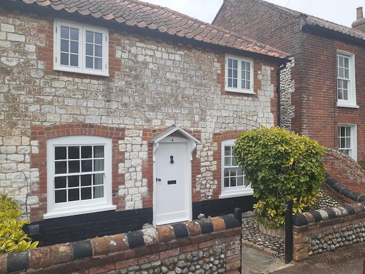 Burnham Overy Staithe home close to the quay.