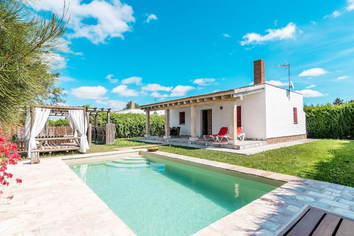 Charming holiday home with private pool - El Acebuche